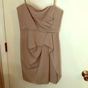 Strapless BCBG Dress